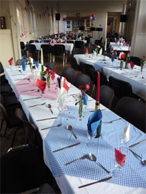 horner Parish Centre website Centre - Banquet Setup